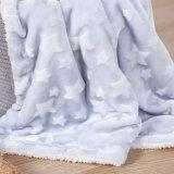 2 couches Jacquard Star design couverture de couette de bébé doux