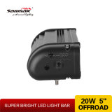 """"""" kompletter einzelner Reihe 20W 6.5 Fisheye LED heller Stab"""