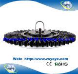 Luz industrial del UFO luz/100W de la bahía del UFO 100W LED del precio de fábrica de Yaye 18 alta LED con Ce/RoHS
