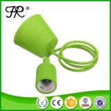 Art der Schrauben-E27 und Cer-anerkannter Silikon-Lampen-Halter
