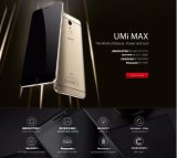 Umi Max Cell Phone Mtk 6755 m. p. 10 GSM WCDMA lte-FDD 4000mAh 3GB RAM 16GB ROM Android 6.0 Marshmallow Mobile Phone Smart Phone Gray