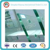 Vidro temperado curvado de 10mm / Vidro curvado quente para construção