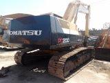 KOMATSU usada PC200 (t) origen Japón del excavador de la correa eslabonada 20