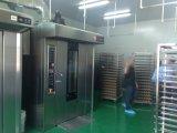 La boulangerie industrielle de pente usine le four rotatoire de crémaillère avec 32 plateaux
