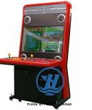 Máquina de juego roja de arcada del rectángulo de breca 4 (ZJ-AR-PIX-5)