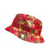 100% قطر عالة تماما يطبع أسلوب دلو قبعة