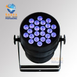 Ce Approved High Brightness 24*15W 5in1 Rgbaw DMX512 LED PAR Light voor Stage Disco Bar Club met Powercon