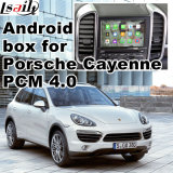 Interfaccia Android del sistema di percorso di GPS video per Porsche Caienna (PCM4.0)