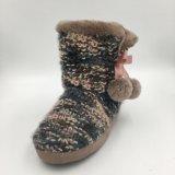 Тапочка Средний-Икры Knit Lds теплая крытая