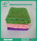 Skidless Microfiberのスポーツタオルの多彩なヨガタオルはタオルを遊ばす