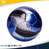 安い耐久の演劇の地上の革サッカーボール