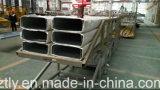 El aluminio de encargo del gran parte sacó perfil para el final del molino