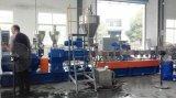 Plastique de PVC d'animal familier réutilisant le granulatoire 500kg/H