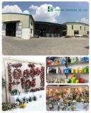 Position ronde de jardinage en métal d'exportation avec l'usine expérimentée de plateau
