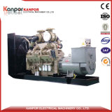 Tipo abierto diesel de Kanpor del conjunto de generador de Cummins 500kw 625kVA (CE ISO9001 BV) o tipo silencioso generador