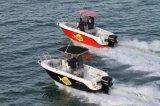 Pequeno 6m Sport Motor Boat aço inoxidável Fairlead, Fiberglass Motor Boat