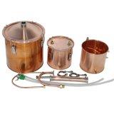 Kingsunshine 18L/5gal kupferner Destillierapparat-Ausgangsspiritus-Wasser-Hydrosol-Destillierapparat-mehrfache Gebrauchbrew-Stille