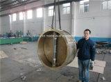 Válvula de verificação dupla de bronze da placa