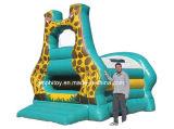Нов хвастун Giraffe раздувной/раздувной замок