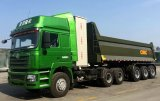 40cbm U Typ, der Fahrzeug-Kipper-Speicherauszug-schweren LKW spitzt