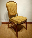 曲がるシートが付いているアルミニウムホテルの宴会の結婚式の椅子