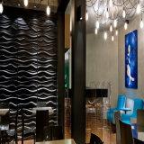 Royllent Textured a colagem do PVC em telhas da parede 3D