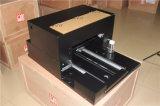 Impresora plana ULTRAVIOLETA de la talla más barata de la mesa A3 con el color 6 y sensor ULTRAVIOLETA del IR de la lámpara para la impresión personal del regalo