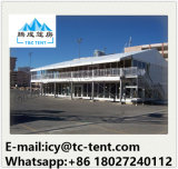 Aluminum Structure Thermo Roof Double Decker Car Showroom Tent for Sale