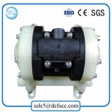 Mini bomba de diafragma agua-aire líquida de los PP (plástico)