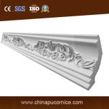 PU Materiales de construcción Interior Decorative Cornice Boarding