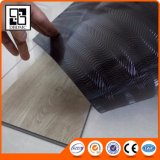 黒の背部緩い位置の贅沢なビニールの板の床