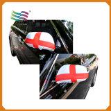 флаги крышки зеркала автомобиля ткани Spandex 26*28cm изготовленный на заказ