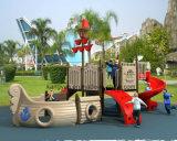 Корабль пирата спортивной площадки горячего сбывания напольный для малышей Ky-10937