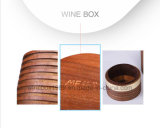Rectángulo de regalo modificado para requisitos particulares natural de Storaging del vino de Mywood de la nuez negra