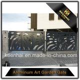 Puerta del diseño del metal de la entrada del chalet