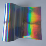 Folha holográfica quente da folha de carimbo