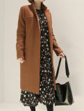 fashion Casual Abstract Pattern OEM 숙녀 긴 소매 복장