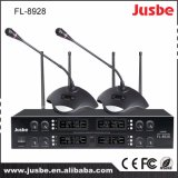 Radio profesional accionada China del micrófono de la frecuencia ultraelevada de Fk-800 Digitaces