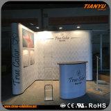 Messeen-Ausstellung-Stand-Bildschirmanzeige oben knallen