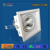 lumière en aluminium de gril de 90lm/W 15W DEL pour l'éclairage de dessin-modèle