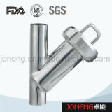 De roestvrij staal Ingepaste Sanitaire Filter van het Type van Y (jn-ST2004)