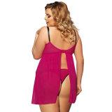 Lingerie chaude de Babydoll de sous-vêtements sexy en gros de femmes