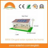 sistema di PV di griglia 6kw per la casa con i comitati solari