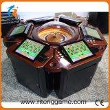 Máquina de jogo elétrica da roleta de 6 jogadores para o casino