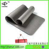 Couvre-tapis à haute densité de yoga de gymnastique de Pilates de yoga de couvre-tapis de la bande NBR/de forme physique chaude de PVC NBR