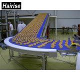 Hairise Food Grade Plastic Bakery Convoyeur à courroie modulaire avec ISO