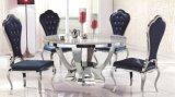 Mobília usada de mármore italiana da sala de jantar da tabela de jantar da mobília Home para a venda