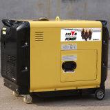 バイソン(中国) BS15000dsea 11kw 11kVAの信頼できる工場価格の銅線のディーゼル発電機220V 50Hz