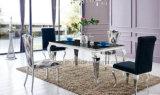 ステンレス鋼の大理石のダイニングテーブルは基本料金を設計する