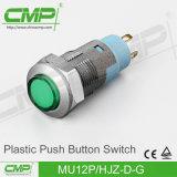 12mm 플라스틱 단추 스위치 (MU12P-FJZ-D-W)